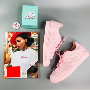 adidas Shoes - Adidas 'Superstar' Bubblegum Pink Sneakers